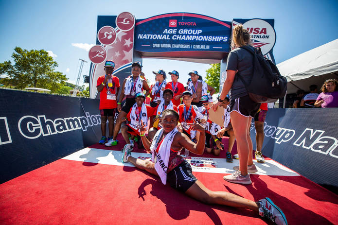 TRI FOR CHANGE PROGRAM TO FEATURE 19 CITY OF CLEVELAND YOUTH IN CONJUNCTION WITH USA TRIATHLON