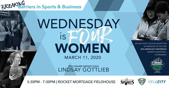GCSC AND MAC TO HOST WEDNESDAY IS FOUR WOMEN FEATURING SPEAKER LINDSAY GOTTLIEB